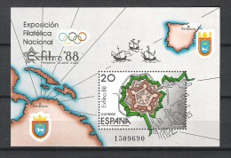 Espagne - 1987 - Y&T Bloc 37 - Neuf  ** - Blocks & Sheetlets & Panes