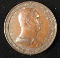 M00814 Parti Libéral, 1848, Diverses Réformes Et Au Revers Profil De Léopold I, Roi Constitutionnel, 59 G - Royal / Of Nobility