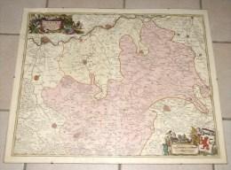 Limburgi Ducatus Et Comitatus Valckenburg Nova Descriptio - Geographische Kaarten