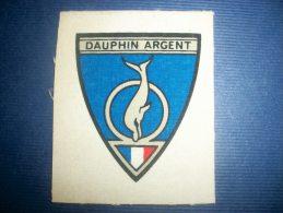 TRANFERT TISSU - DAUPHIN D' ARGENT - Natation
