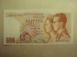 BB 041 - CINQUANTE FRANCS - VIJFTIG FRANK - BOUDEWIJN EN FABIOLA 16.05.1966 - 1241 P 5719 - 310145719 - SPLINTERNIEUW !! - [ 2] 1831-... : Belgian Kingdom