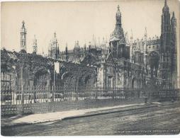 Vue De CAMBRIDGE/ Angleterre/ King's College Screen / Vers 1920-1930            IM395 - Fiches Illustrées