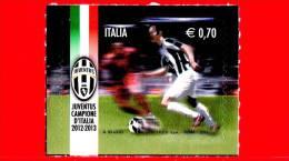 NUOVO - ITALIA - 2013 - Juventus Campione D'Italia 2012-2013 - 0,70 € • Calciatore - 6. 1946-.. Republic