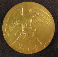 M00830 Un Aigle Et Sté Ornithologique Est De La Belgique, Prix D´honneur Avec Branche De Chêne Par Huguenin. 24 G - Other