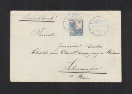 Nederlands-Indie Brief 1925 Sibuga - Niederländisch-Indien