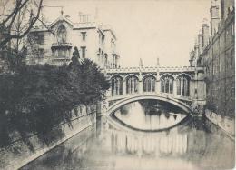 Vue De CAMBRIDGE/ Angleterre/Bridge Of Sighs/ St John´s / Vers 1920-1930            IM399 - Fiches Illustrées