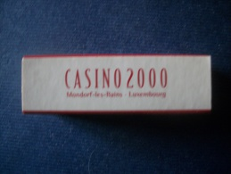 Boite D'allumettes CASINO 2000 Luxembourg - Casino