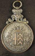 M00839 Fête Carnavalesque 5/3/1905 Entouré De Chêne Et Blason, Une Inscription Martelée, Bélière.  56 G - Belgium