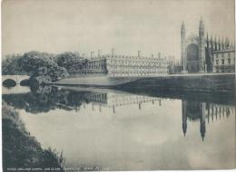Vue De CAMBRIDGE/ Angleterre/King's College  Chapel And Blare /Vers 1920-1930     IM400 - Fiches Illustrées