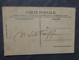 Marc Solotareff, Architecte, Père D´Olga Lecaye Solotareff, Autographe Sur CP Genève, Vers 1912, Ref 626 - Autographes