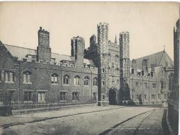 Vue De CAMBRIDGE/ Angleterre/ St's John Y College  /Vers 1920-1930     IM403 - Fiches Illustrées