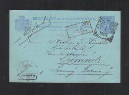 Suriname Briefkaart Paramaribo 1904 - Suriname ... - 1975