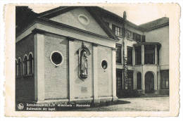 Moerzeke  Retraitehuis O.L.V. Middelares; Buitenzicht Der Kapel (2 Scans) - België