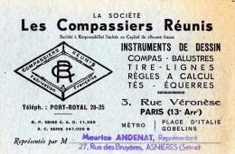 PUBLICITÉ PARIS RUE VERONESE XIII INSTRUMENT DE DESSIN - Publicités