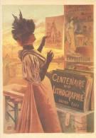 Affiches 7/3 En Cartes Postales Modernes F. Hugo D´ Alèsi Centenaire Lithographie Paris Affiche - Advertising