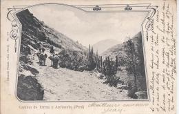 """CPA PEROU """" Camino De Tarma A Acobamba """" - Pérou"""