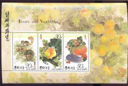 MINT NH STAMPS OF D P R KOREA  3233 A  FRUITS & VEGETABLES - Korea (Noord)