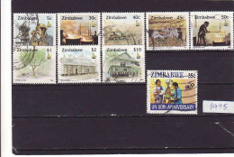Zimbabwe 1995, Oblitérés - Used, - Zimbabwe (1980-...)
