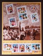 FR BLOC FEUILLET 2000 N°29 LE SIECLE AU FIL DU TIMBRE (I) Le Sport - Timbres 3312 à 3316 - Neufs