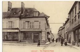 CPA (60) LIANCOURT   RUE ROGER DU PLESSIS - Liancourt