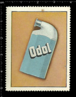 Old Original German Poster Stamp Cinderella Reklamemarke - Odol Mouthwash Chemistry Cosmetics Chemie Kosmetik - Erinnophilie