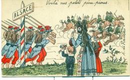 Voila Nos Petits Piou... Pious. Illustrateur A. De Rameris. - Alsace