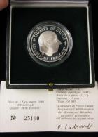 AG00901 Monnaie De Paris, 1 F., De Gaulle, 1988, N°25190, Argent 900, 22 G., 37 Mm,, Boite D´origine - H. 1 Franc