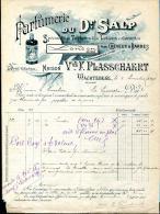 BELGIQUE.WACHTEBEKE.PARFUMERIE DU Dr.SALP.MAISON Vve.F.PLASSCHAERT. - Droguerie & Parfumerie