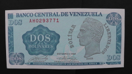 Venezuela - 2 Bolivares - 1989 - P 69 - Unc - Look Scan - Venezuela