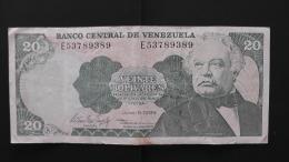 Venezuela - 20 Bolivares - 1995 - P 63e - VF - Look Scan - Venezuela