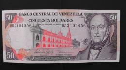 Venezuela - 50 Bolivares - 1995 - P 65e - VF - Look Scan - Venezuela