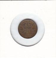 20 CENTIMES Bronze Baudouin I 1954 FL - 01. 20 Centimes