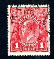 5753x)  Australia 1914   ~Scott # 21a ~ Used ~ Offers Welcome! - 1913-36 George V: Heads