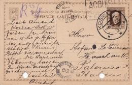 KOSICE /  PALERMO (Italia) - Card _ Cartolina Postale - Viaggiata 27.08.1926 - Altri
