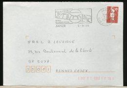 FRANCE  -  JANZE  -  LA ROCHE Aux  FEES  -   DOLMEN - Geology