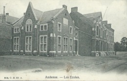 Andenne - Les Ecoles - 1908  ( Voir Verso ) - Andenne