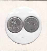 25 CENTIMES Cuivre-nickel Baudouin I 1964 FR Et FL - 1951-1993: Baudouin I