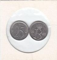 25 CENTIMES Cuivre-nickel Baudouin I 1965 FR Et FL - 1951-1993: Baudouin I