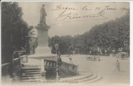 04 - DIGNE - Statue Et Place Gassendi  **Précurseur** - Digne