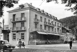 Luxembourg -gd Format -ref L258- Larochette -cafe Hotel Du Chateau -restaurant   -carte Bon Etat - - Larochette