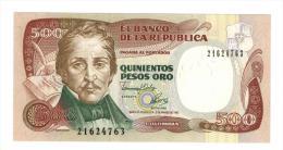 Colombia , 500 Pesos 1992, UNC. - Colombia