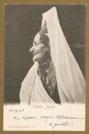 JUDAICA - JUIFS - Vieille Juive - Voyagée Tunisie Le 13.9.1903 - JUIFS DE TUNISIE - Carte Précurseur - TUNIS - Jewish