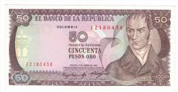 Colombia , 50 Pesos 1985, UNC. - Colombia
