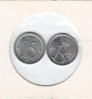 25 CENTIMES Cuivre-nickel Baudouin I 1971 FR Et FL - 1951-1993: Baudouin I