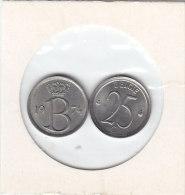 25 CENTIMES Cuivre-nickel Baudouin I 1974 FR Et FL - 1951-1993: Baudouin I