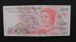 Brazil - 100 Cruzados Novos - 1989 - P 220a - Unc - Look Scan - Brazil