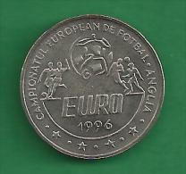 = ROMANIA  - 10 LEI - 1996  -  EURO - PROOF    # 41 = - Romania