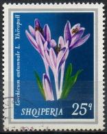 Albania 1974 - Pianta Medicinale Colchico D'autunno, Medicinal Plant Autumn Crocus - Albanie