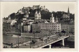 SALZBURG - Staatsbrücke , - Salzburg Stadt