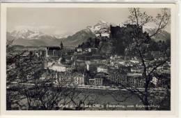 SALZBURG  G.d. Hohen Göll U. Untersberg, Vom Kapuzinerberg   1939 - Salzburg Stadt